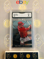 2014 Panini Elite Mike Trout #22 - 9 MINT GMA Graded Baseball Card