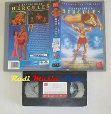 film VHS L'INVINCIBILE HERCULES cartone  Avo Film 1997  (F46)  no dvd