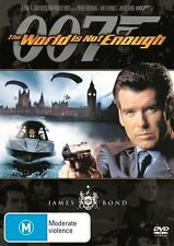 The World Is Not Enough (DVD, 2007) REGION 1, Pierce Brosnan, Sophie Marceau