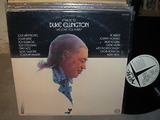 VARIOUS a tribute to duke ellington / we love you madly ( jazz ) - 2lp - PROMO -