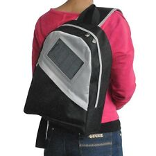 Solar Power Messenger Daypack Bag Mobile Device iPhone Android Charger