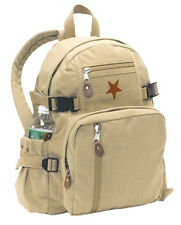Rothco 9153 VINTAGE SMALLER VERSION OF STAR BACKPACK - KHAKI
