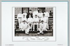 CRICKET  -  UNMOUNTED CRICKET TEAM PRINT - ESSEX - 1895