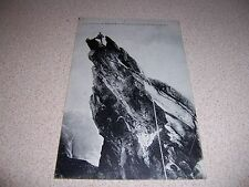 1910s MOUNTAIN CLIMBER l'AIGUILLE DORAN FRANCE ANTIQUE POSTCARD