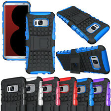 Fashion Heavy Duty Rugged Hybrid Armor Dual Layer Case Shockproof Stand Cover