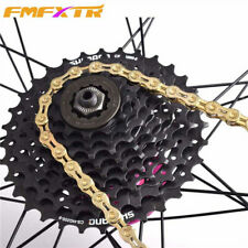 Bicycle Steel Chains Ultralight MTB Road Bike Chain Parts 9/10/11 Variable-speed