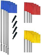 Champion Sports World Cup Soccer Corner Flag Set SCFPRO Corner Flag Set NEW