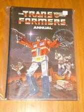 TRANSFORMERS MARVEL COMICS BRITISH ANNUAL 1986 FN