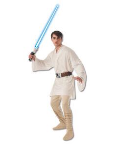 """Star Wars Mens Luke Skywalker Classic Costume XL Chest 44-46""""Waist 36-40""""Leg 33"""""""