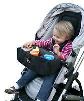 J. L. Childress Food 'N Fun Toddler Stroller Tray Black New in Bag