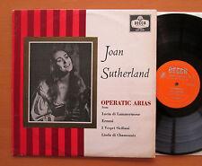 LXT 5531 Joan Sutherland Operatic Arias Nello Santi 1959 Decca Mono EX/VG