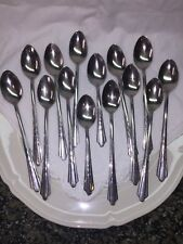 Ekco Stainless USA EKS7 Set of 15 Pieces Spoon Fork Glossy U.S.A