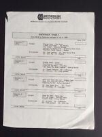 Backtrack NBC Radio Transcription 3x Vinyl LP Hendrix, Doors, Floyd, Stones EX