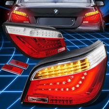 Chrome Red 3D LED Brake Signal Tail Light/Lamp for 2004-2007 E60/E61 5-Series M5