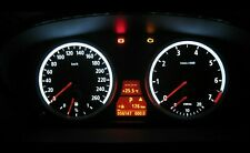 BMW E60 E61 Kit de conversión LED racimo del instrumento Speedo Tablero Tablero 5 Series