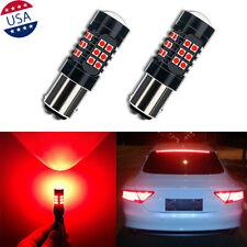 1157 LED Strobe Flashing Blinking Brake Tail Light/Parking Safety Warning Bulbs