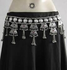 Metal Tassel Belt Belly Dance Dancing Costume Skirt Jewelry Boho Tribal Fashion