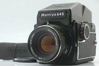【NEAR MINT】 Mamiya M645 + AE Finder + Sekor C E 70mm f/2.8 From Japan 1082