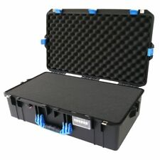 Black with Blue Pelican 1605 Air case With Foam