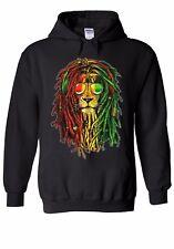 Lion Reggae Music Rasta Men Women Unisex Top Hoodie Sweatshirt 1786E