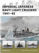 Osprey Vanguard IJN Japanese Light Cruisers 1941-45, VAN 187 Soft Cvr Ref.  F ST