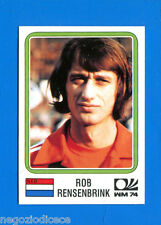 WORLD CUP STORY Panini - Figurina-Sticker n 90 -RENSENBRINK-OLANDA-MONACO 74-New