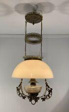 New listing Antique vtg 1880's Victorian converted kerosene chandelier light fixture