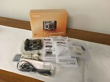 Canon PowerShot A590 IS 8.0MP Digital Camera Complete Accessories, Manuals,cords