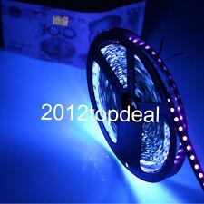 1-5M DC12V 5050 UV Ultraviolet purple Non-waterproof 60led/m Strip F black light
