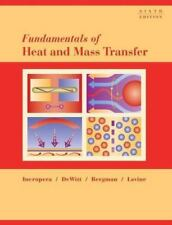 Fundamentals of Heat and Mass Transfer Incropera, Frank P.