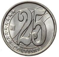 Venezuela - Münze - 25 Centimos Centimes 2007 - Stempelglanz UNC