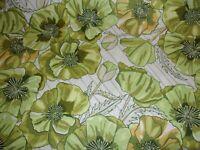 Floral In the Bloom Avocado Robert Kaufman Premium Quilting Cotton Fabric YARD