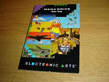 Locale Megadrive EA 1992 1993 catalogo Games catalogo