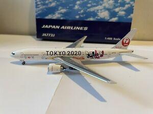 Japan Airlines 777-200 'Tokyo 2020' 1:400 (Reg JA773J) PH04275 Phoenix