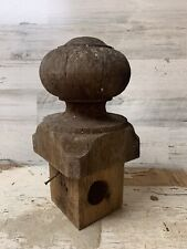 Vintage Shabby Chic Post Porch Wooden Finial