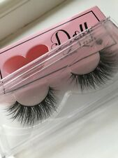 1c8786beb1c DOLL BEAUTY LASHES 3D MINK BRAZILIAN HAIR FALSE EYELASHES STRIP LASH  ESMERELDA