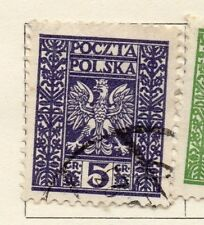Poland 1929 Early Issue Fine Used 5gr. 133450
