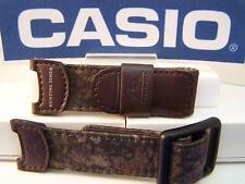 Casio watch band PAS-410 B. Brown Camo Pathfinder Hunting Watchband Strap