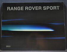 2010 Range Rover Sport 52pg Catalog Brochure Excellent Original 10