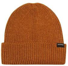 NIXON New Mens Headwear Knit Beanie REGAIN Honey Brown