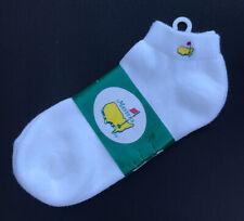 Women's MASTERS Footjoy White Sportlet Socks Augusta National Shoe size 6-9 2006
