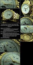 LES MECANIQUES COMPLIQUE HERREN UHR -BASIS ETA 2836-MODUL SWISS UHRWERK -MULTI