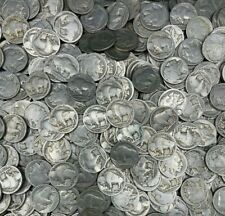 (20) Old Buffalo Nickels No Date With Mint Marks Indian Head Nickels D & S Marks