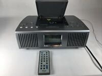 TEAC SR-L100 CD, AM/FM Stereo Clock Radio, With Remote, Serviced-cleaned-Tested