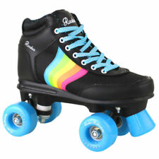 Rollers et patins noirs, pointure 37