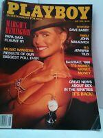 PLAYBOY may 1990 margaux hemingway