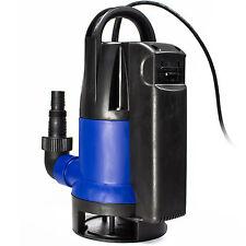 AWM Tauchpumpe AM-400-TS Gartenpumpe Wasserpumpe 400W Flachsaugend Schmutzwasser