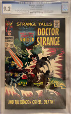 Strange Tales #163 CGC 9.2 OW/W 1st Clay Quartermain; 2nd (Full) Living Tribunal