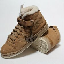 $600 ADIDAS VINTAGE FORUM HI SHEEPSKIN 500 only boot BAPE MEN US SZ 9.5 Fashion