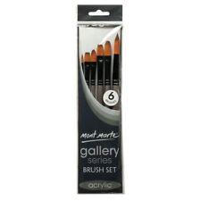 Mont Marte Gallery Series Brush Set Acrylic 6pce